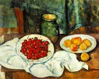 Table with Cherries